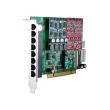 OpenVox AE810P PCI VoIP Asterisk kartica w/ Hardware Echo Cancellation EC2032-128 (8-portna, 2 slota za FXO400/FXS400 module)