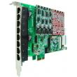 OpenVox AE810E PCI Express VoIP Asterisk kartica w/ Hardware Echo Cancellation EC2032-128 (8-portna, 2 slota za FXO400/FXS400 module)