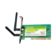 TP-Link TL-WN851N 300Mb/s wireless 2.4GHz PCI kartica Atheros ip 100mW (20dBm), 2T2R MIMO, CCA, RP-SMA antenski konektor