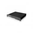 "Rack-mount 1.5U/19"" kućište, ATX 12""x9.6"" MB format, 4 x RJ-45 port napred sa 8 LED, 2 x USB 2.0 + 1 x DB9 pozadi, 2 ventilatora 60mm, 1 mesto za 3.5"" disk, prihvata 1U napajanja do 300W, dubina 380mm (NI-F158)"