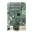MikroTik RouterBoard RB433 - Atheros AR7130 CPU 300MHz, 3 x LAN (PoE), 3 x miniPCI, 64 MB RAM sa RouterOS L4 (do 200 konekcija)