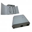 Fiber optička završna kutija (ZOK) sa 24 slota za simplex adaptere (do 24 SC i/ili 24 E2000 i/ili 48 LC konektora), sa splice kasetom, metalna sa bravicom, 400x350x75mm (FB-W24)