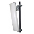 Sektor dual band antena 14 dBi / 90 stepeni 2.4GHz (V ugao 16 stepeni) & 4.9-5.8GHz (V ugao 8 stepeni), 2 x N(ženski) konektor, HyperLink (USA) model HG2458-14P-090