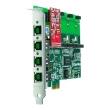 OpenVox A400E PCI Express VoIP Asterisk kartica (4 slota za FXO/FXS module)
