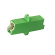 E2000-APC/E2000-APC singlemode fiber simplex adapter (1 x E2000-APC SM)