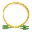 Fiber duplex patch cord kabl SC/APC-SC/APC duž. 2m, singlemode 9/125, APC (angle-polished connectors) - fabrički napravljen i testiran