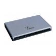 Grandstream-USA GXE5024 IP-PBX telefonska centrala do 100 lokala, 4 FXO+ 2 FXS+ 1 WAN+ 1 LAN/PoE, Voicemail 75h, Videomail 2h, Fax server, 2 konferencijske sobe, Skype sertifikovana