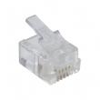 RJ-12 konektor telefonski - 6P4C (6 pinova + 4 kontakta)