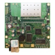 MikroTik RouterBoard RB411R - Atheros AR7130 CPU 300MHz, 1 x LAN (PoE), ugraen wireless 2.4GHz 802.11g, 32 MB SDRAM sa RouterOS L3