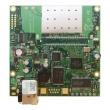 MikroTik RouterBoard RB411R – 1 x 10/100Mb/s LAN/WAN (PoE 10-28V), ugrađen wireless 2.4GHz 802.11g sa 2 x U.FL, CPU 300MHz, 32 MB RAM, dim. 105x105mm, temp. -30C-60C, RouterOS L3