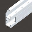 120x55mm KANAL parapetni Kopos PK sa poklopcem samogasiv (direktno prima 45x45mm module, 2 segmenta, opc. dodatna pregrada i/ili metalni podkanal)