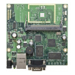 MikroTik RouterBoard RB411U - Atheros CPU 300MHz, 1 x LAN (PoE), 1 x miniPCI, 1 x miniPCIe, 1 x USB, 32MB RAM sa RouterOS L4