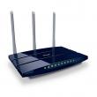 TP-Link TL-WR1043ND 450Mb/s Gigabit bežični 2.4GHz firewall ruter, 1 x WAN + 4 x LAN 10/100/1000Mb/s + USB (File & Print), WAN / LAN protok> 800Mb/s, iOS & Android ap, WDS extender, WPS, 3T3R MIMO, 3 x RP-SMA antene 5dBi
