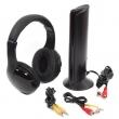 Slušalice bežične sa FM radiom + mikrofon (za Skype, video, audio)