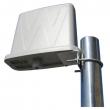 Panel antena sa kućištem 19 dBi 5.1-5.9GHz NPE-5159-19-16UFL - U.FL konektor, H/V ugao 16 stepeni, unutrašnje dim. 178x175x40mm
