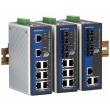 Moxa EDS-405A-SS-SC-T upravljv industrijski svic 3 x 10/100BaseT(X) ports, 2 x 100BaseFX single-mode portovi (SC), -40 do 75°C