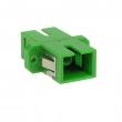 SC-APC/SC-APC singlemode simplex fiber adapter (1 x SC-APC SM)