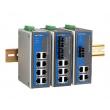 Moxa EDS-P308-S-SC-T industrijski svič 3x10/100BaseT(X) porta, 4 PoE porta & 1x100BaseFX single-mode port (SC konektor), -40 do 75°C
