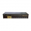 "KVM svič CKL-9138UP 8 ports combo PS/2&USB +8 cables 1.8m - bandwidth 250MHz, 1920x1440p, rackmount 19"", svič: push button/hotkey/OSD"
