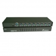 KVM svi CKL-9138  8 ports PS/2 - bandwidth 250MHz, 1920x1440p, rackmount 19&quot;, svi: push button / hotkey