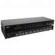 """KVM svič CKL-91B  8 ports PS/2 + 8 cables 1.8m - bandwidth 250MHz, 1920x1440p, rackmount 19"""", svič: remote control / push button"""