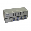 VGA matrix svič & spliter CKL-444R  4-IN/4-OUT with Remote control, bandwidth 250MHz, 1920x1440p, extend the signal up to 65m