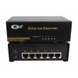 Ethernet Extender & 6-port Svič CKL-LAN600 boost Ethernet 10/100Mb/s signal up to 2 x 305m, full duplex, VLAN