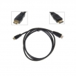 HDMI kabl ver. 1.4 dužine 3m, pozlaćeni kontakti 19PINM/19PINM, podržava HEC (HDMI Ethernet Channel) & 3D over HDMI, pakovanje za maloprodaje