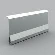 Kopos unutrašnja pregrada PKS 70/60 - razdelnik segmenata sa metalnom folijom za parapetne kanale 100x60, 140x60, 180x60, 90x55, 120x55, 160x65mm