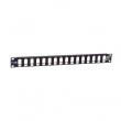 """Patch panel modularni 19""""/1U sa 16 slotova za UTP module (UKP-16-1U) – bez modula"""