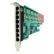 OpenVox A800E PCI Express VoIP Asterisk kartica (8 slotova za FXO/FXS module)