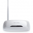 TP-Link TL-WR743ND-PoE 150Mb/s beini firewall client ruter 2.4GHz, 1 x WAN + 4 x LAN, eXtended Range (vei domet) Atheros ip 100mW (20dBm), modovi AP Router/ Client(WISP)/ WDS ripiter, QoS, QSS, RP-SMA antena 5dBi
