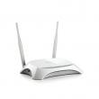 TP-Link TL-MR3420 3G / 4G LTE ruter 300Mb/s 802.11b/g/n na 2.4GHz sa USB portom za modeme, 1 x WAN + 4 x LAN, WPS dugme za brzo WiFi kriptovanje, WDS ripiter, IP kontrola brzine klijenata, Firewall, 2 x RP-SMA antene