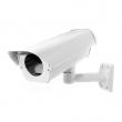 Eksterno kućište za kamere IP 66 sa držačem (ulaz kabla kroz držač), ventilatorom, grejačem i termostatom (unut. dim. 100x75x260mm)