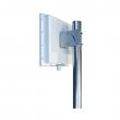 Panel antena sa kućištem 18 dBi 5.1-5.9GHz Dual Polarisation NP-5159-18-17DP-MMCX - 2 x MMCX(m), H/V ugao 17 stepeni, unutrašnje dim. 233x233x45mm