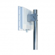 Panel antena sa kućištem 18 dBi 5.1-5.9GHz Dual Polarisation NP-5159-18-17DP-UFL - 2 x U.FL(m), H/V ugao 17 stepeni, unutrašnje dim. 233x233x45mm