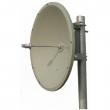 Parabolic Dish antena 35 dBi 5.4-5.7GHz ND-5457-35-4 - N(ž), H/V ugao 6 stepeni, pun tanjir prečnika 120cm
