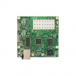 MikroTik RouterBoard RB711A-5Hn-M - 802.11a/n 200mW (MMCX), Atheros AR7240 CPU 400MHz, 1 x LAN (PoE), 64MB RAM sa RouterOS L4