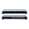Grandstream-USA GXE5028 IP-PBX telefonska centrala do 100 lokala, 8 FXO+ 2 FXS+ 1 WAN+ 1 LAN/PoE, Voicemail 150h, Videomail 4h, Fax server, 4 konferencijske sobe, Skype sertifikovana