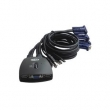 KVM svi CKL-74U 4 ports USB + 4 cables USB - bandwidth 250MHz, 1920x1440p, svi mode: hotkey