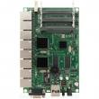 MikroTik RouterBoard RB493G - 9 x Gigabit LAN/WAN (PoE 10-28V), 3 x miniPCI, USB (za 3G/LTE modeme i storage), VPN ruter/firewall/bandwith manager/load balance, CPU 680MHz, 256MB RAM, dim.160x105mm, temp.-30C-60C, ROS L5
