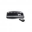 Tastatura bežična multimedijalna + miš bežični (3 tastera)