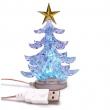 USB minijaturna božićna jelka (svetli u više boja)