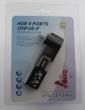 USB 2.0 hub 4 porta (crni)