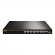 DCN L3 svič DCRS-5750-28T  24 x Gigabit (20xUTP+4xCombo SFP/UTP) + 4 x 10GigaE (XFP/SFP+), IOS Layer 3 Lite Routing, IPv6 certification Phase II, PS AC+RPS