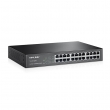 "TP-Link TL-SF1024D 24-port 10/100Mb/s desktop / 19"" rackmount svič, 802.3x flow control, 4.8Gbps capacity, interno napajanje AC100-240V /50-60Hz, Energy-efficient – 75% manja potrošnja, max. 3.5W"