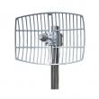 Grid antena 24dBi 5.1-5.9GHz model NG-5159-24 - N(ž), ugao H12º / V9º, težina 1.2kg, dim. 30x40cm
