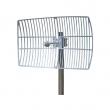 Grid antena 27dBi 5.1-5.9GHz model NG-5159-27 - N(ž), ugao H9º / V6º, težina 1.8kg, dim. 40x60cm