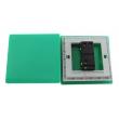 Zidni prekidač ART F serije, jednopolni, klasični i/ili naizmenični 250V - 10А, zelena Pantone paleta boja, model ARTF2