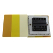 Zidni prekidač ART F serije, tropolni, klasični i/ili naizmenični 250V - 10А, žuta Pantone paleta boja, model ARTF6